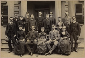 Bridgewater Normal School, Class 106, Section E, 1889