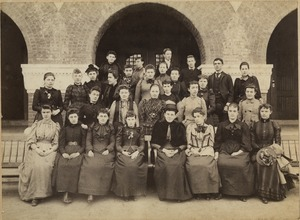 Bridgewater Normal School students, 1892