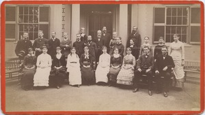 Bridgewater Normal School students and faculty