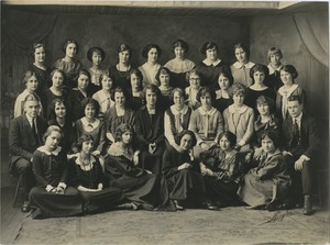 Bridgewater Normal School, Class B, 1923