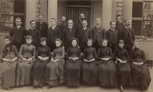 Bridgewater Normal School, Class 112 Section A and faculty