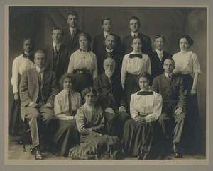 Bridgewater Normal School, Class A, 1912