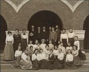 "Bridgewater Normal School ""special students"", 1902"