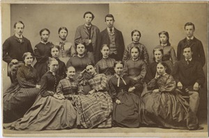 Bridgewater Normal School students