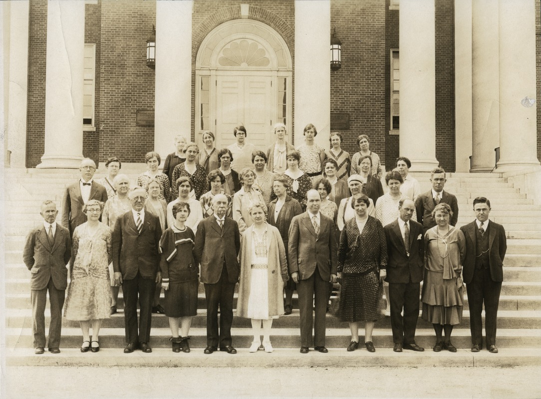 Bridgewater State Normal School faculty, 1930