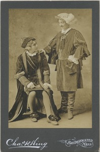 "Bridgewater State Normal School Dramatics Club production of ""The Merchant of Venice,"" 1910"