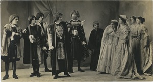 Bridgewater State Normal School Dramatics Club production, 1915