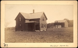Sudbury Reservoir, real estate, Deerfoot Farm Co., house and barn, Southborough, Mass., ca. 1893