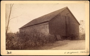 Sudbury Reservoir, real estate, C. Brigham's icehouse, Southborough, Mass., ca. 1893