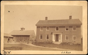 Sudbury Reservoir, real estate, E. A. Buck, house and barn, Southborough, Mass., ca. 1893