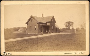 Sudbury Reservoir, real estate, Deerfoot Farm Company, house, Southborough, Mass., ca. 1893