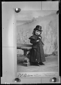 Child with cane