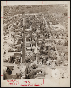 Aerial photo, Lee Historic District