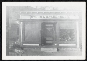 Byron L. DeVarennes General Store on Maple St. in East Lee