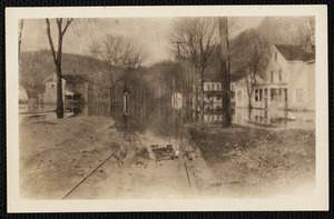 Lower Main St. South Lee, Great Flood of 1938