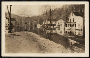 Lower Main St. South Lee, Great Flood of 1937 [sic]