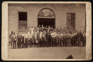 Workers at Columbia Mill
