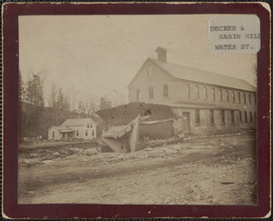 E. Lee disaster, Decker & Sabin Mill