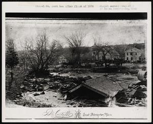 Chapel St. after flood of 1886
