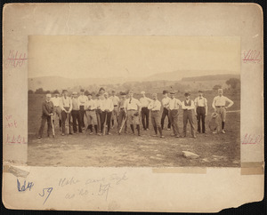 Baseball team, Reliance Hook & Ladder Co.