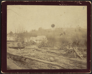 Baird neighborhood, flood 1886