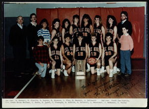 Lady Wildcats, state champs, 1989