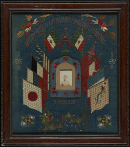 Embroidery of Boxer Rebellion with Luigi Digrigoli