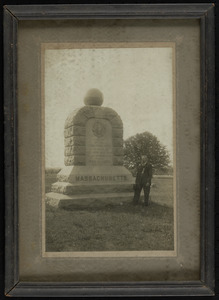 Mass. monument near Spring, Andersonville Stockage