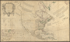 A new map of North America
