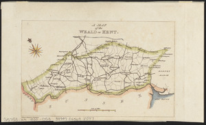 A map of the Weald of Kent
