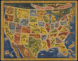 United States inlay puzzle