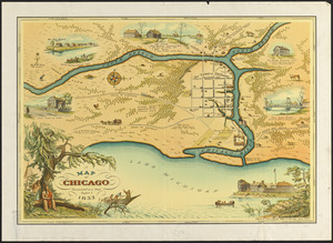 A map of Chicago