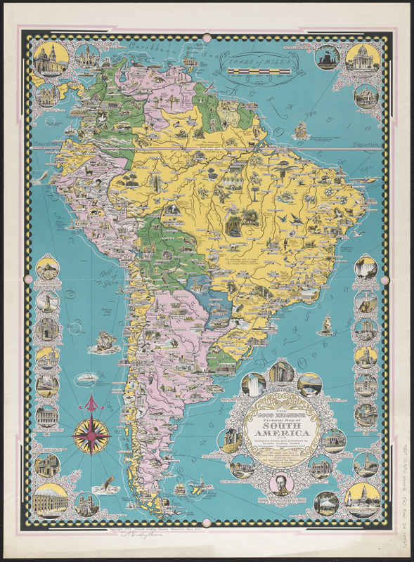 The good neighbor pictorial map of South America