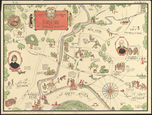 The map of pioneer Hartford