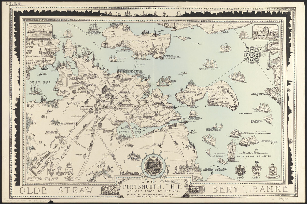 A map of Portsmouth, N.H. - Digital Commonwealth