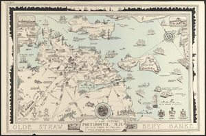 A map of Portsmouth, N.H.