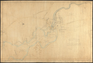 "Plan of Clinton Company's property, ""Sawyer's Mills"" Boylston, Mass."