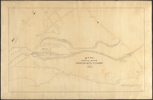 Plan of Nashua River from Lancaster Mills to S. Harris