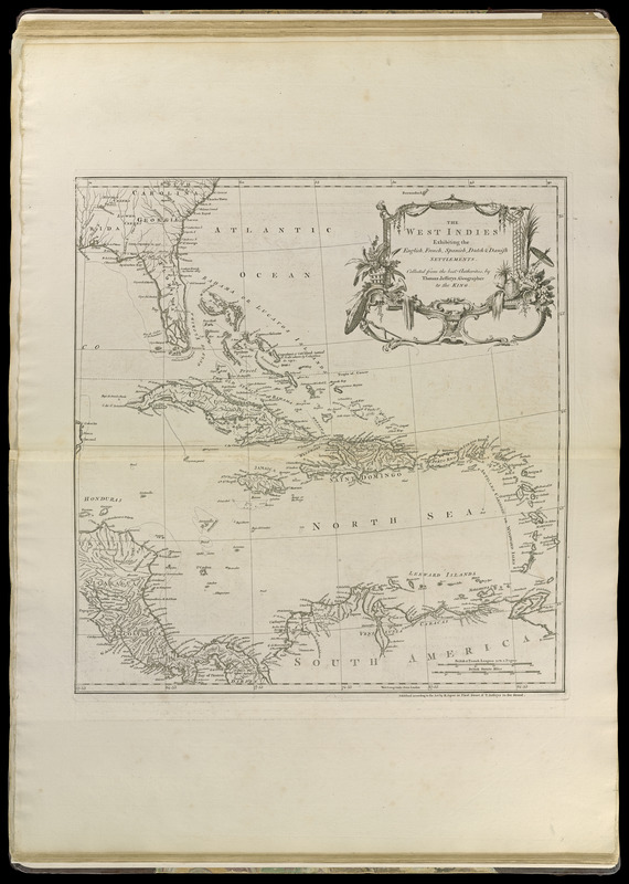 The West Indies exhibiting the English, French, Spanish, Dutch & Danish settlements
