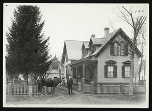Eli Rankin house, South Hamilton, across from R.R. Depot, November 21, 1891