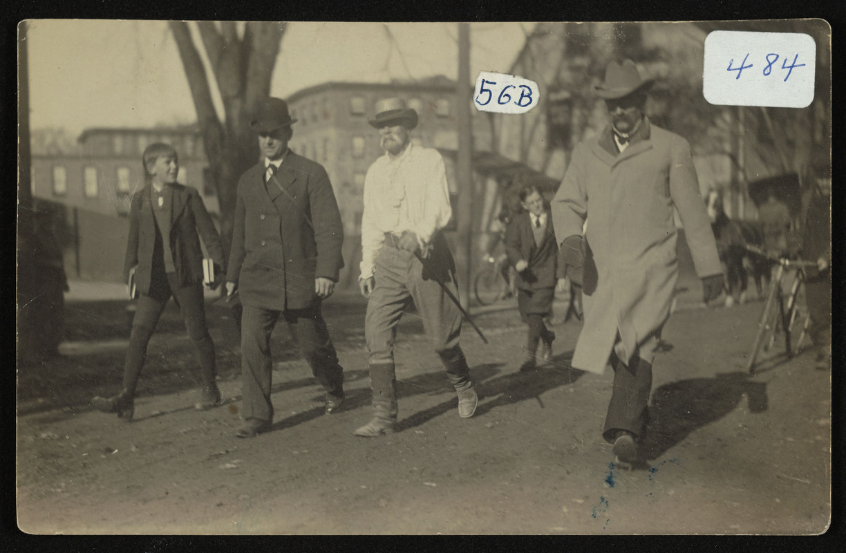 One on right was Frank Trussell Hamilton