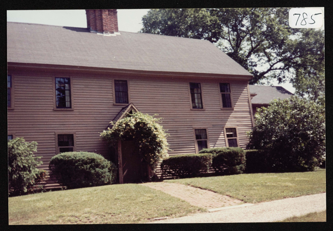Otis Brown farmhouse, 76 Bridge Street, Hamilton