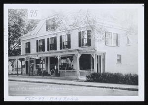 585-589 Bay Road, village store and post office, Daley's Market and Grocery