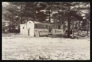 The Hamilton diner relocated in 1958 near Richardson's Dairy in Middleton, MA