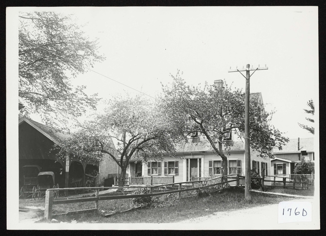 A.E. Peatfield's house and barns on Highland St., So. Hamilton, Mass.