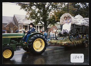 Covered wagon reprod., Hamilton 200th parade, 1793-1993