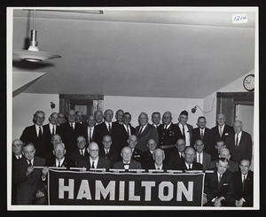 1964 Reception for W.W.I veterans at Legion House by A.P. Gardner Post 194 A.L.