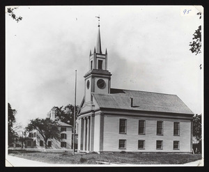 Buildings, exterior, 1st Congregational Church, Main St., South Hamilton, MA
