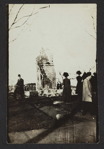 After the Hamilton fire, 1910