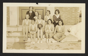 Early 1930's basketball team